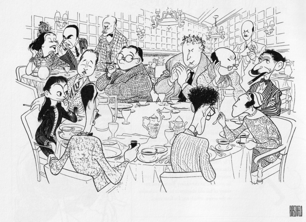 Al Hirschfeld Illustration